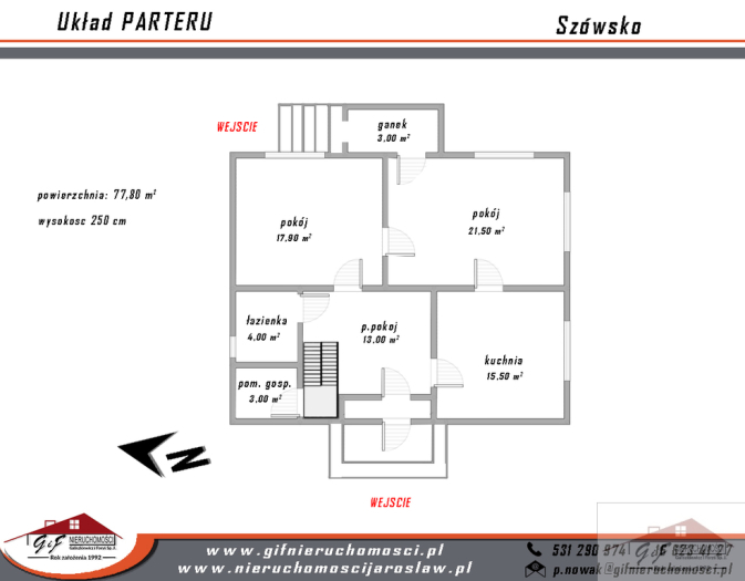House for sale with the area of 120 m2