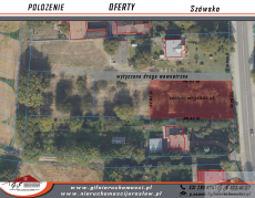 Land for sale with the area of 1086 m2